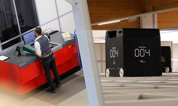 Warehousing mit einem innovativen automatischen Kleinteilelager